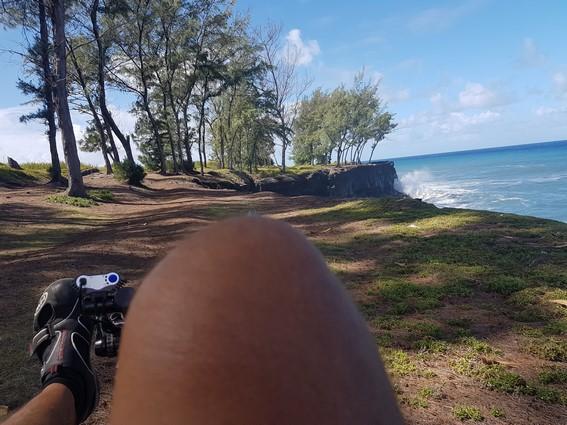 Atmosphère Péi balade vélo-couché Saint Joseph côte sauvage de la Réunion Ile intense