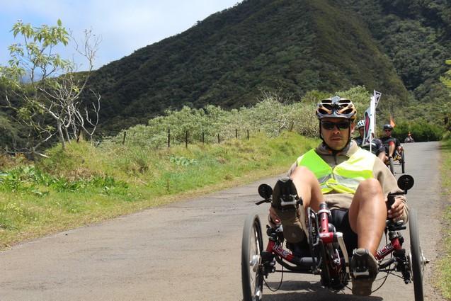 Atmosphère péi Bourg-Murat Plaine des Cafres Ile de la Réunion Vélo-couché randonnée