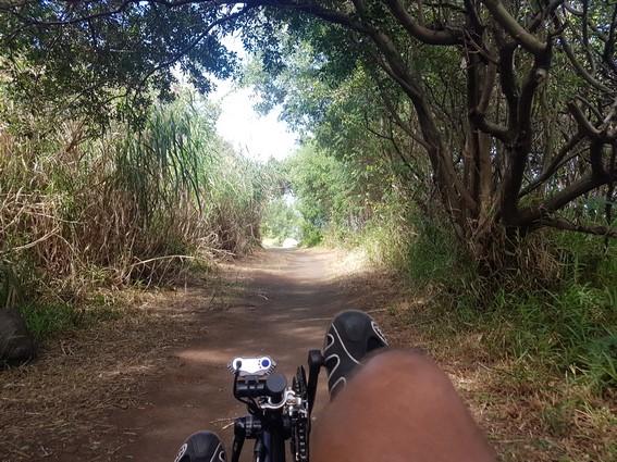 Atmosphère péi vélo-couché Balade Saint-Joseph Sud Sauvage ile de la Réunion