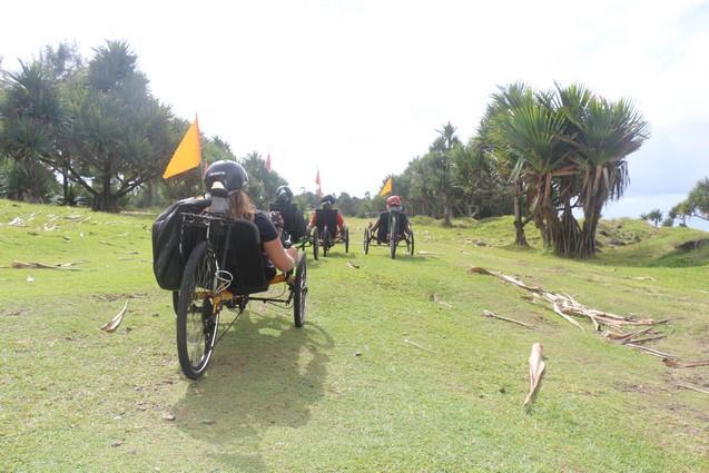 Littoral de Bras Panon activité sportive vélo-couché ile de la Réunion Atmosphère Péi