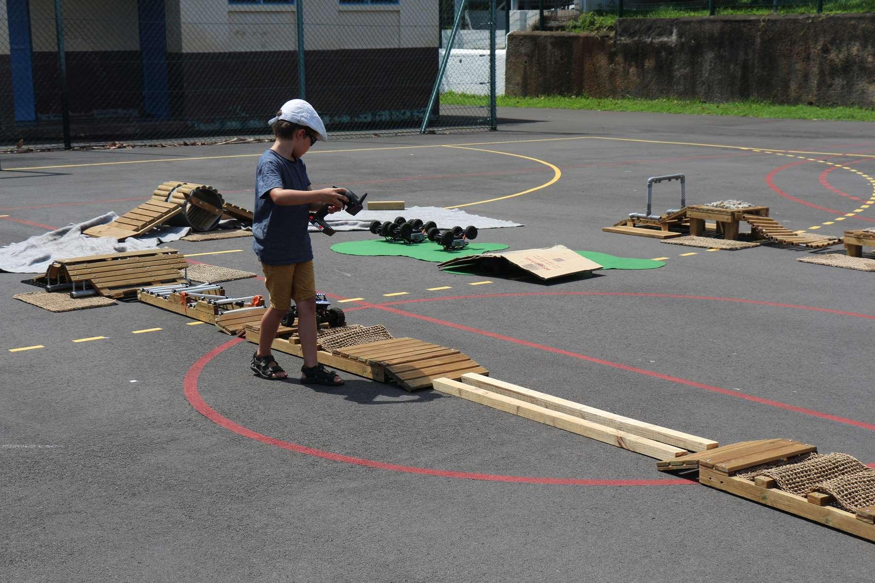Loisirs activité pour les enfants ile de la Réunion Atmosphère péi modélisme