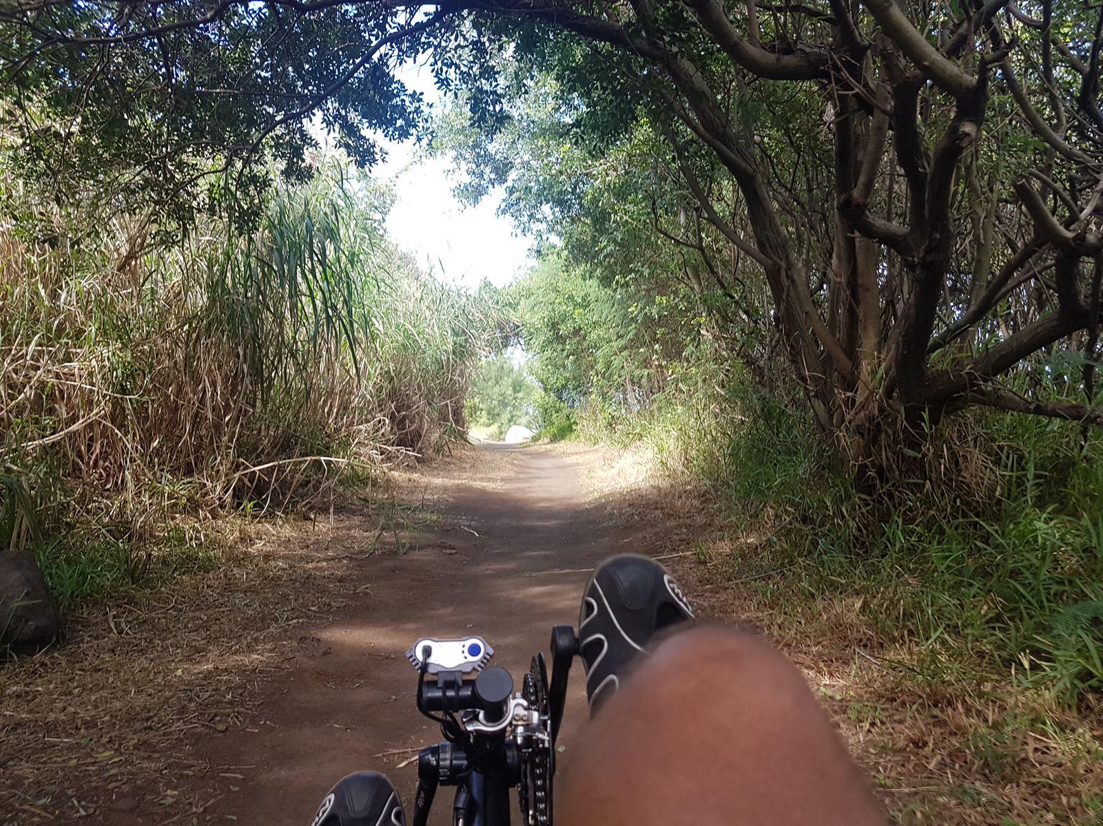 Vélo-couché Ile de la Réunion Manapany et dans l'Est en tous chemins