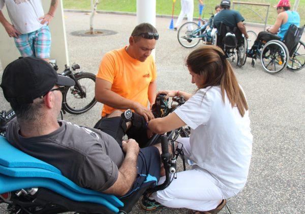 Vélo-couché accessible handicap à la Réunion
