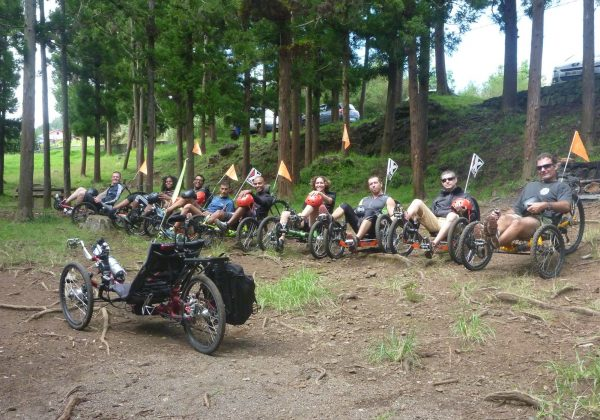 Le vélo-couché activité pour entreprise à l'île de la Réunion