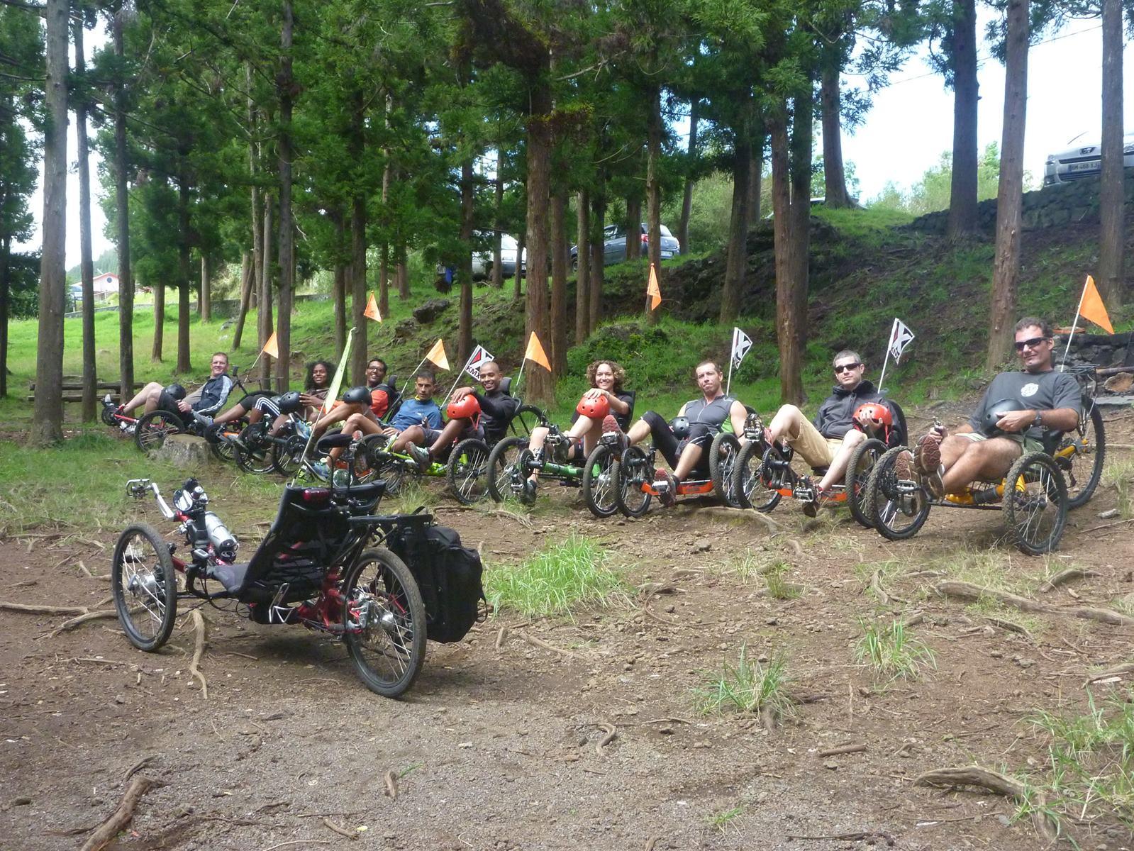 Balade à Bourg-Murat en vélo-couché Atmosphère Péi Ile de la Réunion Ile Intense
