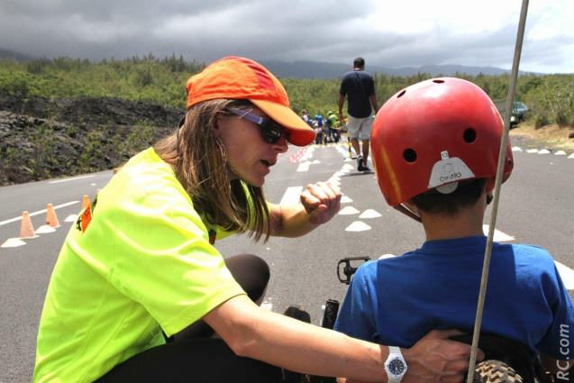 Vélo-couché le vélo bonheur pour les enfants à la Réunion en activité accueil de mineur collectif