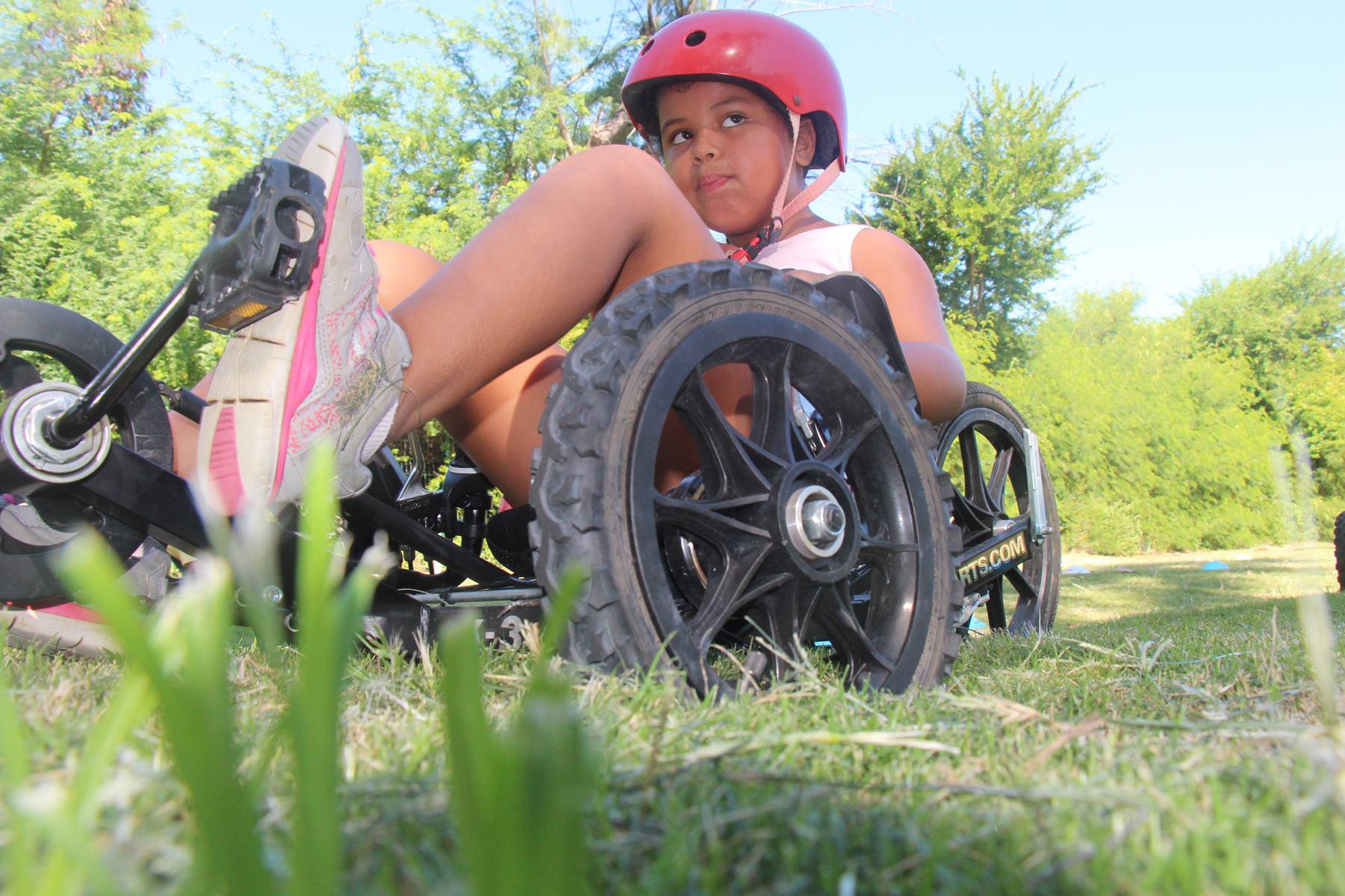 Vélo-couché enfant Ile de la Réunion Atmosphère Péi
