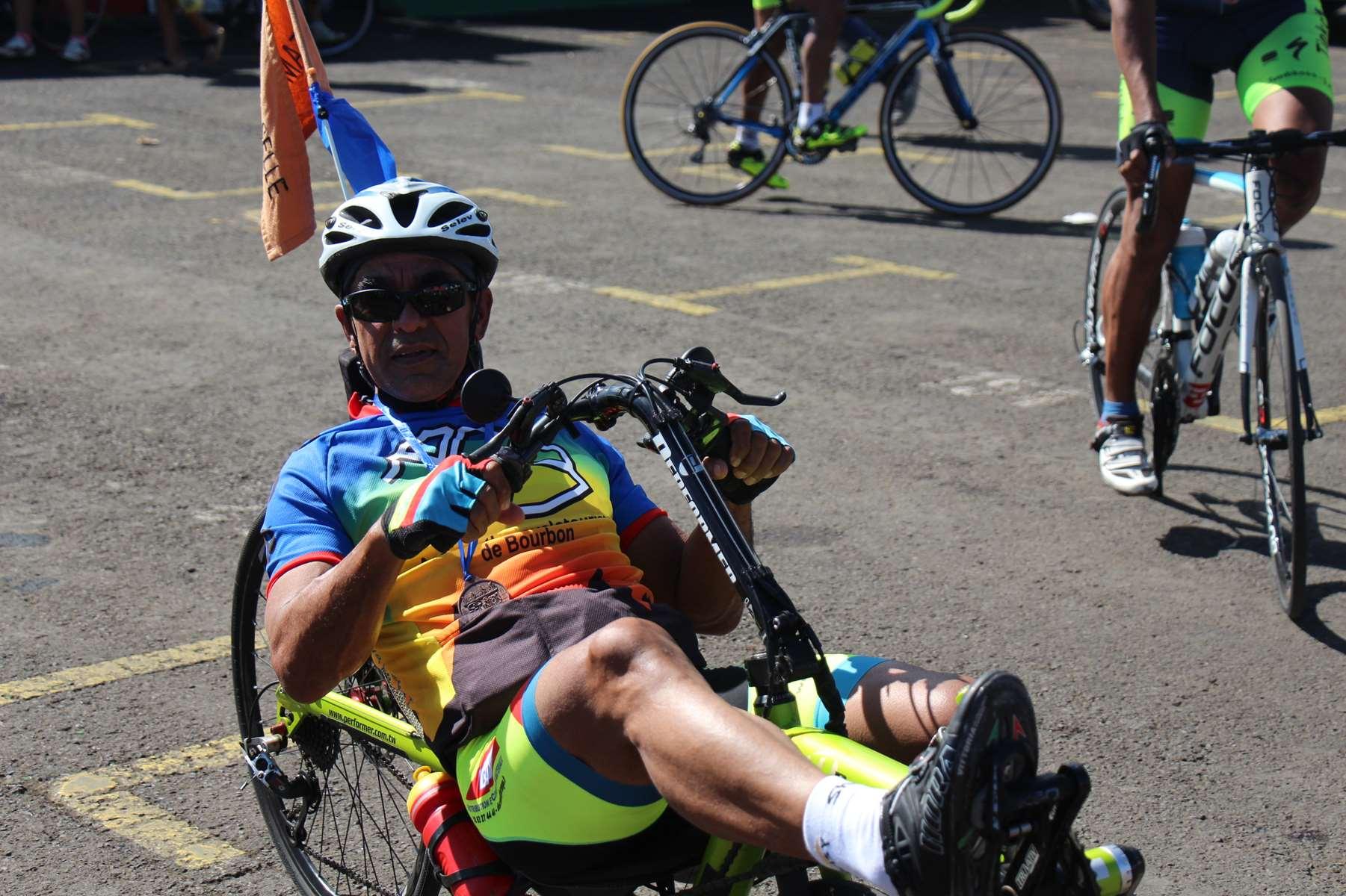 Vélo-couché version sport du bonheur confortable Ile de la Réunion Atmosphère Péi