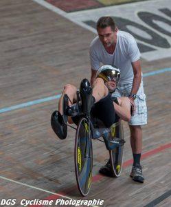 Aurélien BONETEAU recordman de vélo-couché