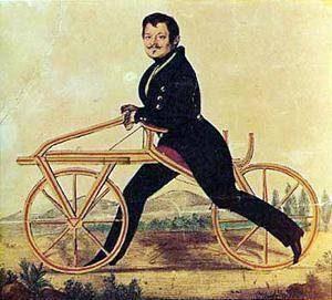 Draisienne Atmosphère Péi Histoire du vélo-couché