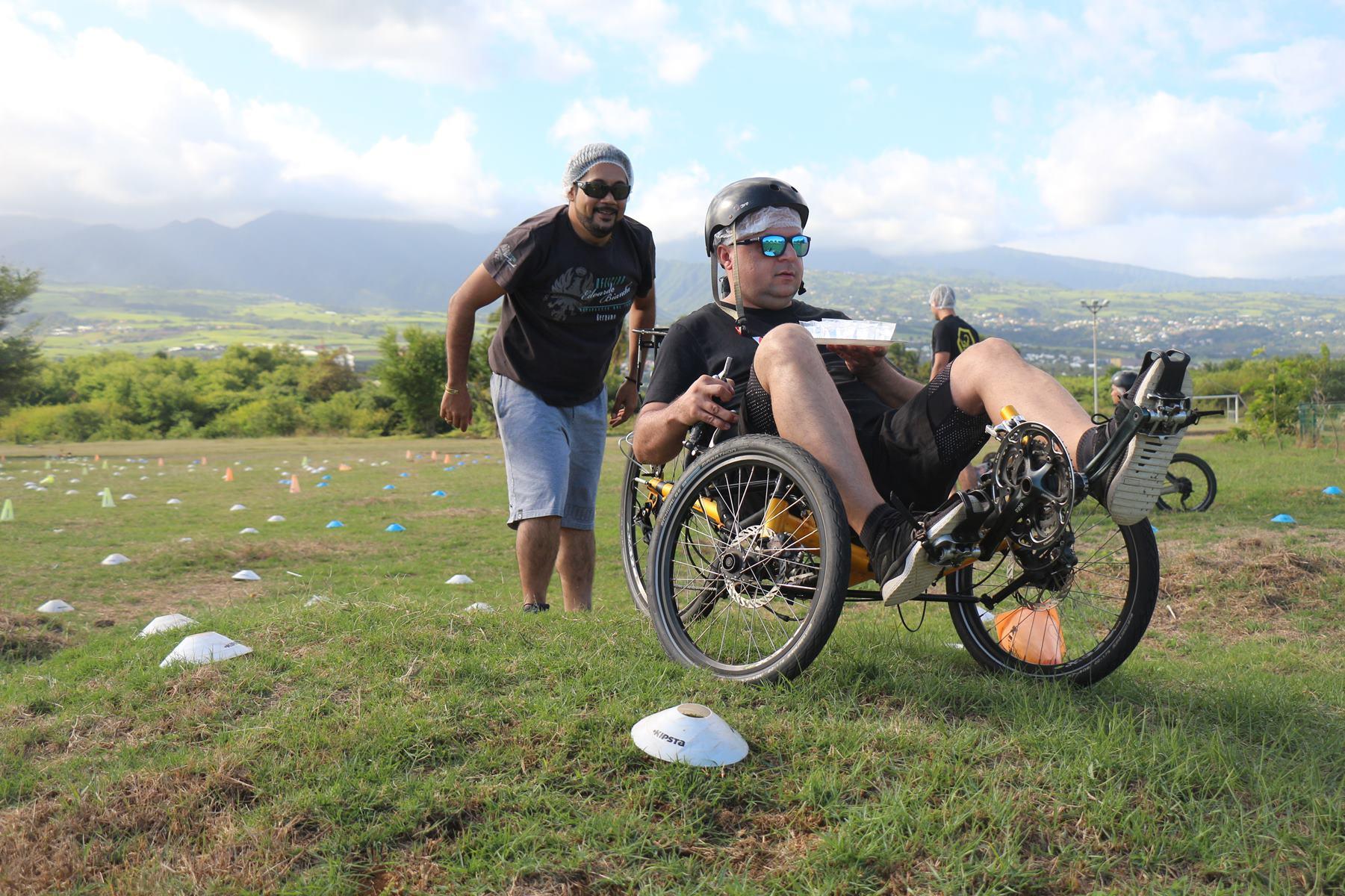Challenge en vélo-couché Ile de la Réunion