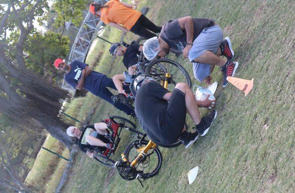 Team Happy activité Team-Building Atmosphère Péi vélo-couché