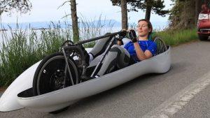 Barbara BUATOIS RECORDWOMAN de vélo-couché