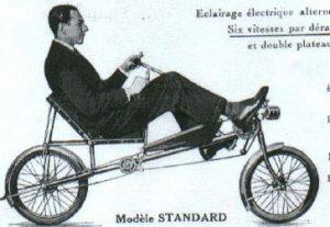 Vélo-couché une invention française Atmosphère Péi