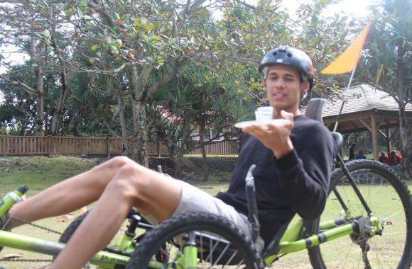 Atelier Atmosphère Péi Ile de la Réunion challenge vélo-couché Team-Building créateur de bonheur