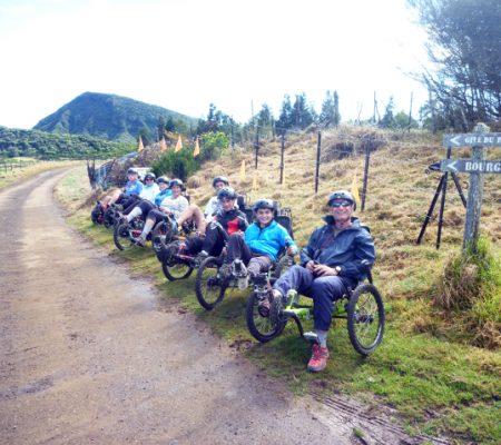 Atmosphère péi Ile de la Réunion Vélo-couché Bourg-Murat par les chemins en bol d'air oxygénant