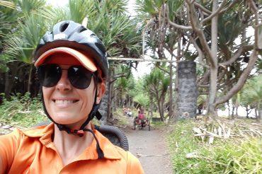 Randonnée tous chemins Rivière des Roches en vélo-couché