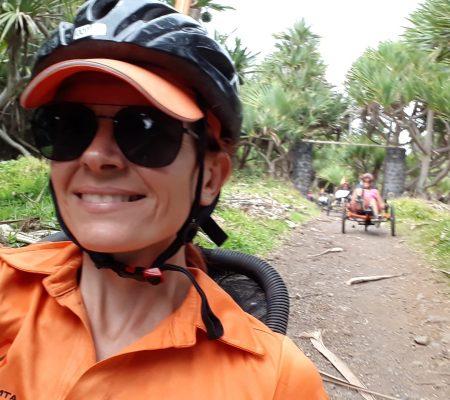 Vélo-couché randonnée tous chemins Bras Panon Rivière des Roches Ile de la Réunion