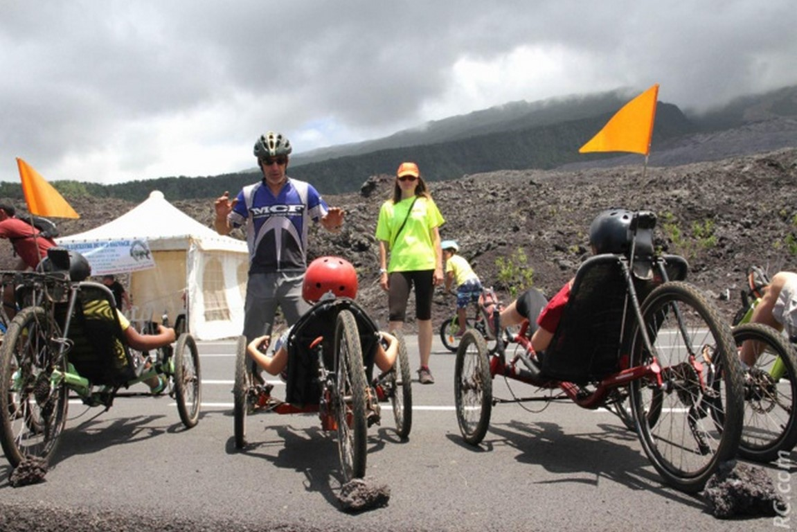 Atmosphère Péi Challenge Multi-activité vélo couché Entreprise Ile de la Réunion