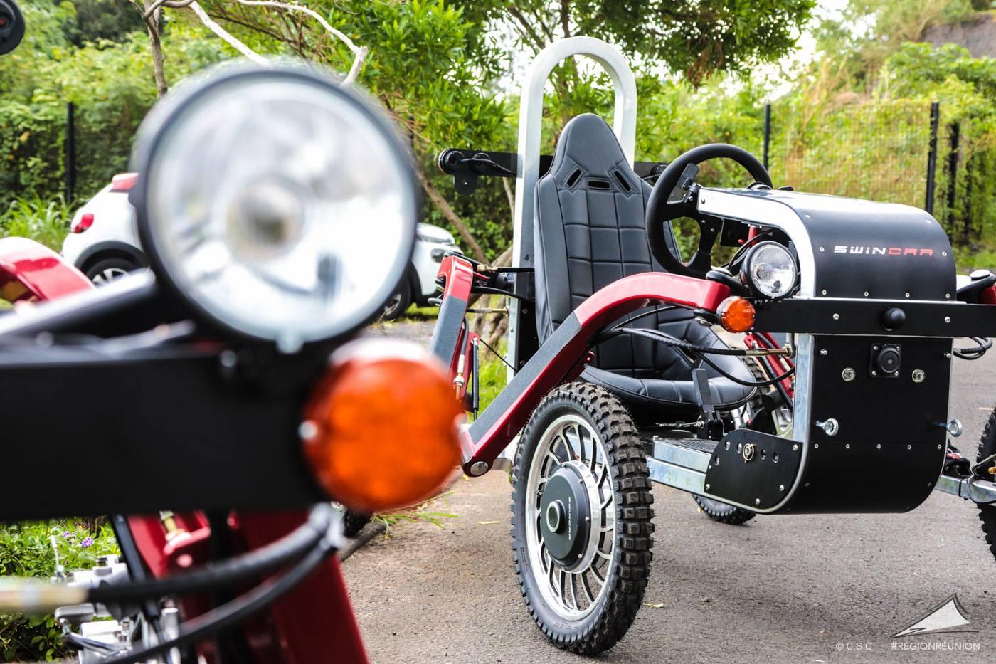 Swincar véhicule électrique à la Réunion