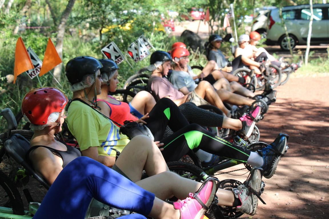 Balade Etang-Salé en vélo couché Atmosphère Péi 974 Réunion