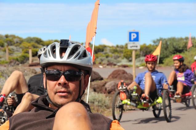 Les vélo-couchés randonnée à la carte Atmosphère Péi loisirs insolites à la Réunion