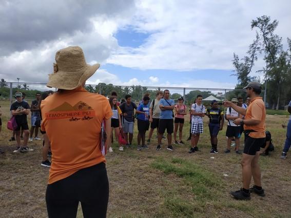 Aurore LAURENT Atmosphère Péi équipe loisirs et activités écologiques et insolites à l'ïle de la Réunion